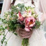 Trouwbloemen, bruidsboeket